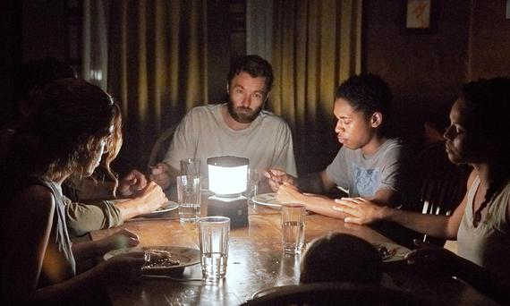 Joel Edgerton leads a strong cast of Christopher Abbott, Carmen Ejogo, Riley Keough and Kelvin Harrison Jr in 'It Comes At Night' directed by Trey Edwards Shults