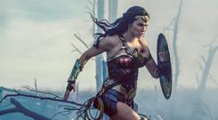Shield up: Gal Gadot as Diana Prince in Wonder Woman