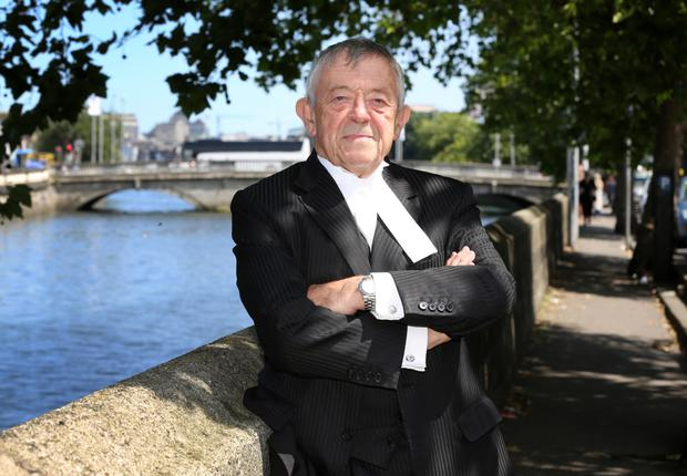 Taking a change of direction: Barrister Kevin Healy in Dublin. Photo: Frank Mc Grath