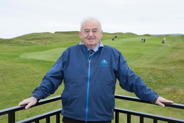 Golf historian: Fr Enda Glynn. Photo: Liam Burke/Press 22