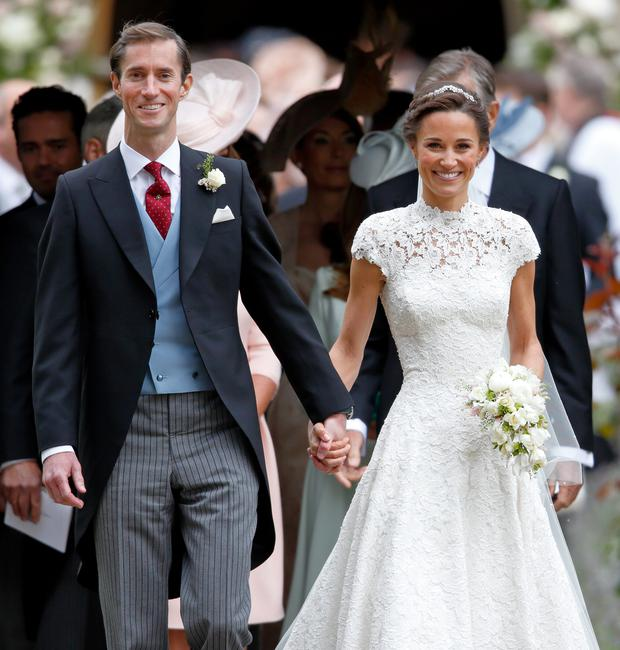 Pippa enforced the 'no ring, no bring' rule