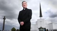 Man of vision: Rector of Knock shrine Fr Richard Gibbons. Photo: Gerry Mooney
