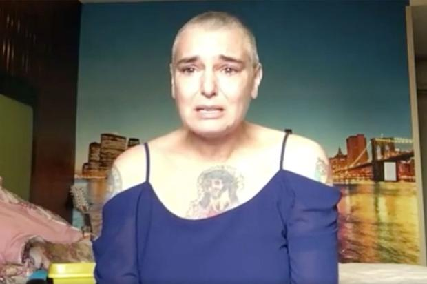 Sinead O'Connor posted an emotional video on social media