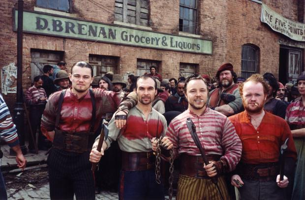 No mercy: Leonardo DiCaprio and his gang of Irish immigrants, The Dead Rabbits, in the 2002 movie Gangs of New York