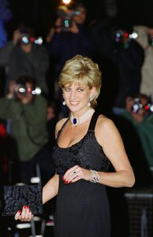 The main men: Diana was rumoured to be involved with many male partners after her marriage to Charles hit the rocks