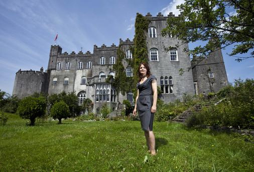 Seat of innovation: Alicia Clements at Birr Castle and science centre. Photo: Chris Bellew