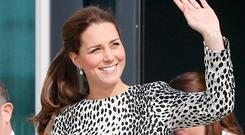 Royal bump: Kate Middleton suffers from acute morning sickness during pregnancies