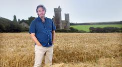 Sunday Independent columnist and BBC special correspondent Fergal Keane, at McKenna's Castle, Ardmore, Co. Waterford. Photo: Tony Gavin