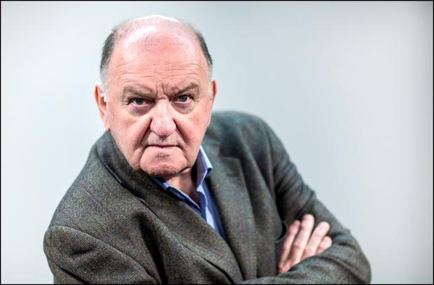 Stirring up trouble: George Hook