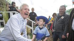 Scout and about: Louis Walsh at the Ploughing Championships looking for next big thing