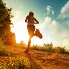 Running is as good for your head as it is for your fitness. Stock image
