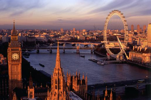 City colour... Big Ben, the Houses of Parliament, the Thames and the London Eye — just a few of the many attractions to keep any visitor to London busy