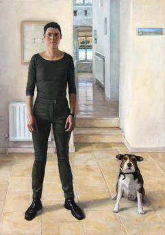 'Orla and Sparkey Kelly in the New Home' by Blaise Smith RHA