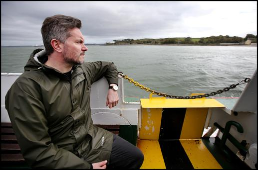 A special place:John Meagher takes the ferry across from Cobh to visit Spike Island. Photo: Steve Humphreys