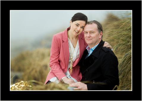 Daithi and his wife, Rita. Photo: Gerry Mooney