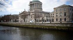 Seat of justice: the Four Courts in Dublin