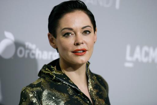 Speaking out: Rose McGowan says she was assaulted by Harvey Weinstein. Photo: AP