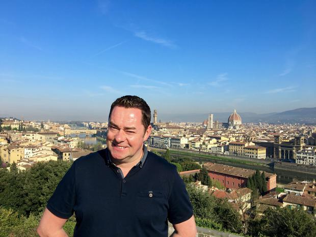 On the trail of Italian food: Neven Maguire