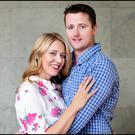 Claire Tighe and Aidan Mannion are heavily involved in The Helix's annual panto. Photo: Steve Humphries