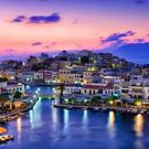 Agios Nikolaos is a pretty fishing village, with a kind of Venetian aspect to it, but also with plenty of bars and charming little restaurants