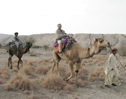 Isambard Wilkinson on his travels through Pakistan. Photo: Scott Eells