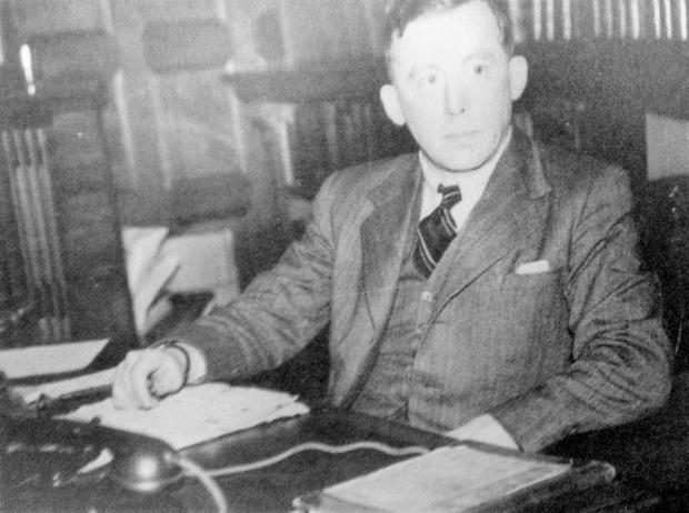 Brilliant mind: Richard Hayes would cycle to the McKee Barracks to decipher Nazi codes after work