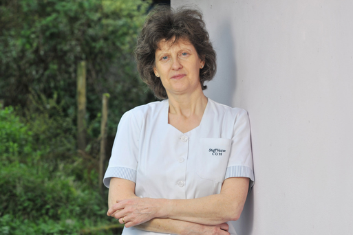 Healthy option: Mary Leahy completed her degree by doing a remote learning course before returning to work Photo: Daragh Mc Sweeney/Provision