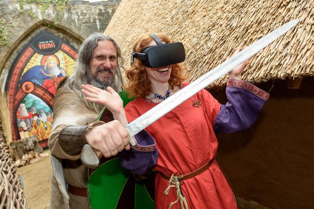 Virtual reality Viking tour
