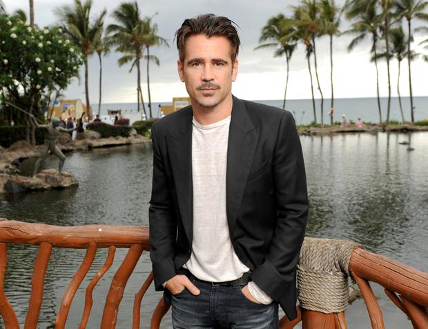 Colin Farrell says that when he ditched drugs and alcohol, he took up running to let off steam