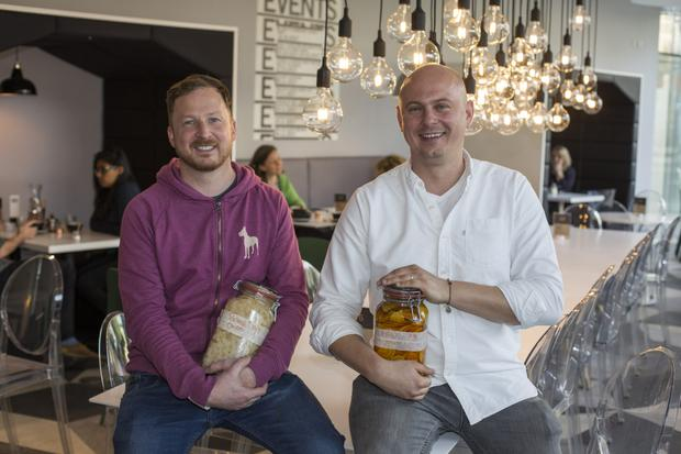Where the Krakow is 90: Frank Kavanagh and Peter Sztal, owners of Cloud Picker Coffee