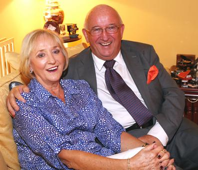Mary and John O'Conor are the best of friends after 45 years of marriage. Photo: Colin O'Riordan