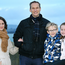 Thriving: Bríd and Will with Sam (8) and Zoe (6)