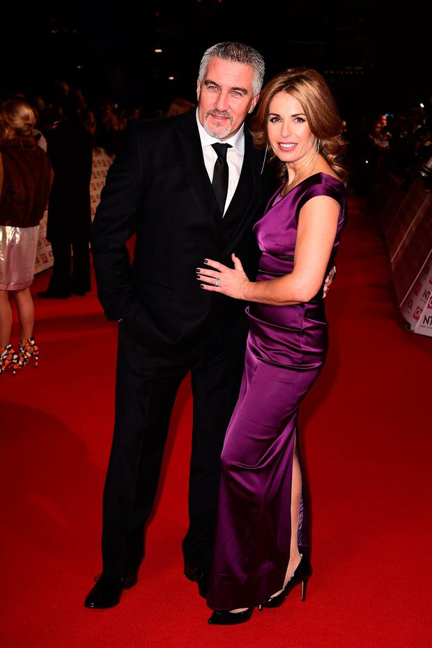 Showstopper: Paul Hollywood and his wife Alexandra have split