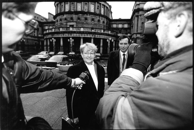Niamh Bhreathnach, then Minister for Education in 1993. Photo: John Carlos