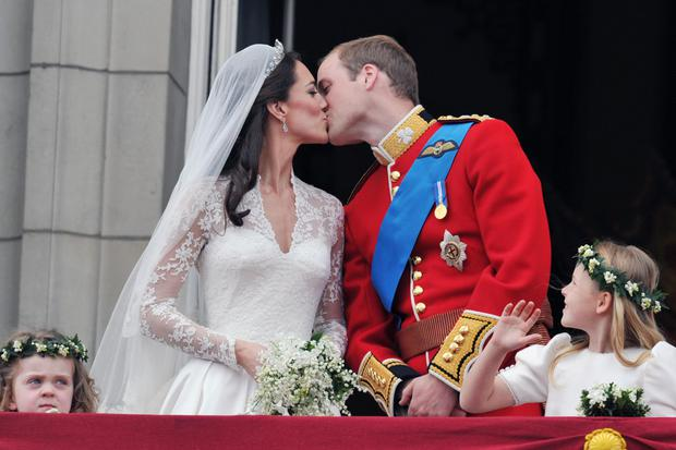 Pomp: Meghan and Harry may not go for a lavish ceremony like Will and Kate did. Photo: PA