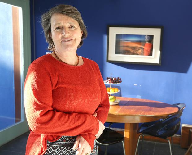 Mutual respect: Eilis O'Connell has shared her house in Phibsborough for 25 years. Photo: Damien Eagers / INM