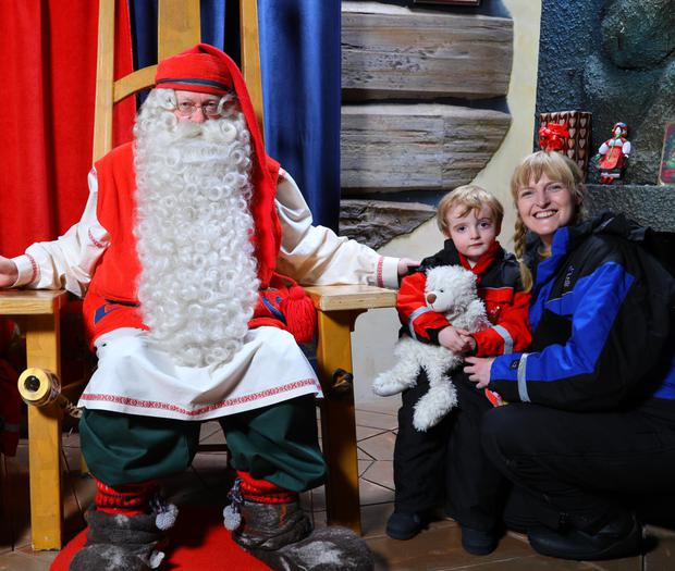 No visit to Lapland is complete without a visit to the picture-perfect Santa Claus