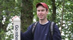 Active: Kevin Scannell from Missouri uses social media to keep immersed in the Irish language