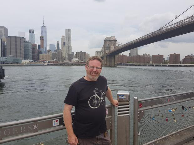 Fearghal in the Big Apple