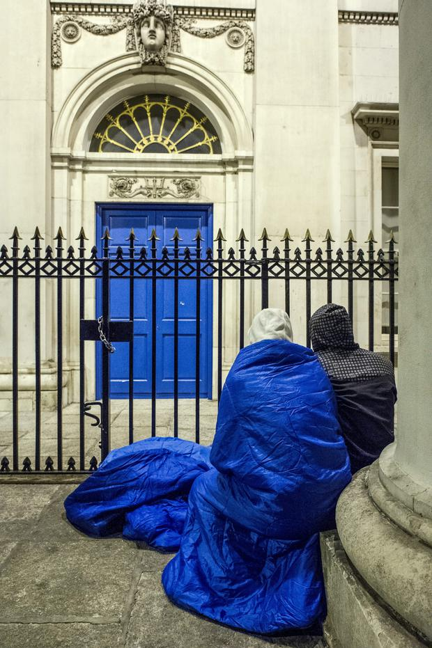 Distortion in the system: In 2015, a new measure allocated half of all social housing in Dublin to the homeless, but was dropped 18 months later. Photo: Doug O'Connor