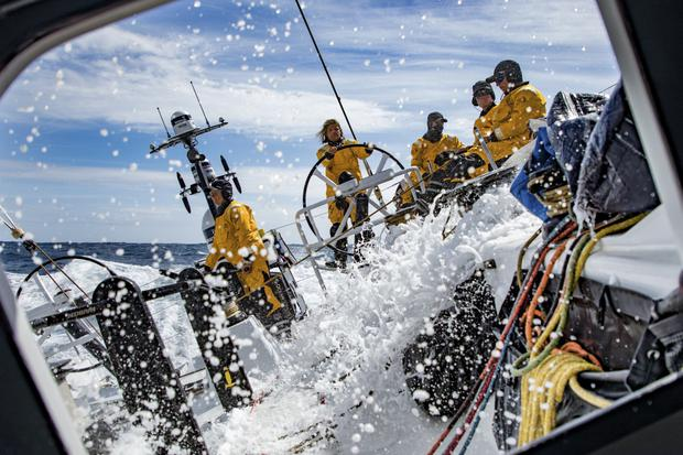 Leg 3, Cape Town to Melbourne, day 10. Photo: Jeremie Lecaudey/Volvo Ocean Race
