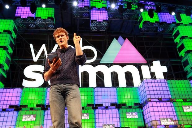 Paddy Cosgrave, co-founder of the Web Summit. Photo: Frank Mc Grath