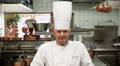 CELEBRITY CHEF: Paul Bocuse rose to fame in the 1970s as a proponent of nouvelle cuisine. Photo: AP