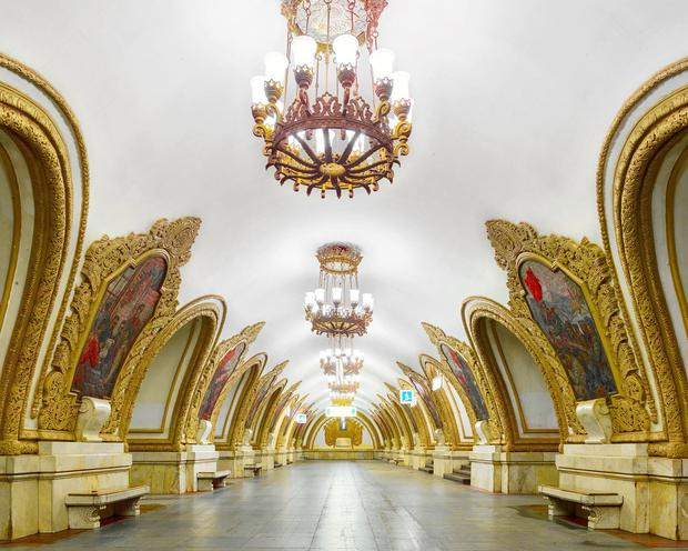 Moscow's underground is impressive - just check out the Kiyevsskaya metro station