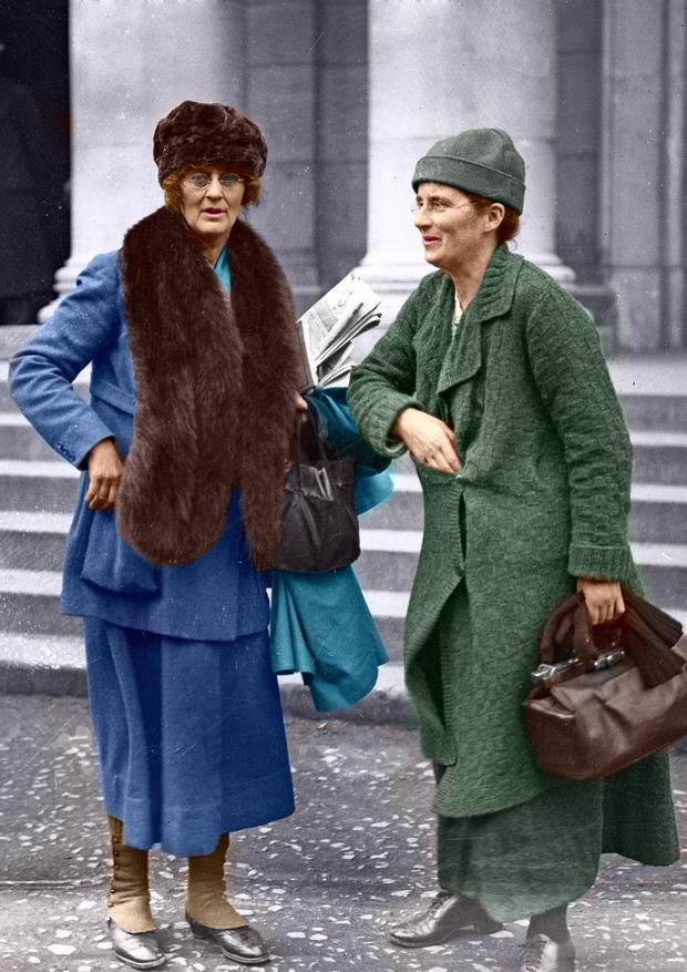 Countess Markievicz and Kathleen Lynn, who was born in Co Mayo and was the daughter of a Church of Ireland clergyman. Lynn completed her medical training and by 1913 was Chief Medical Officer of the Citizen Army