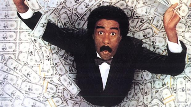 Richard Pryor in 'Brewster's Millions'.
