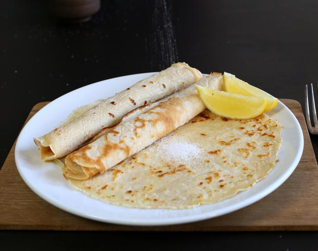 Mary Berry's crepe