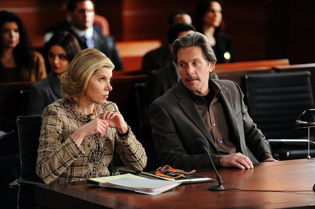 Love and war: Diane and Kurt were always at odds in the The Good Wife