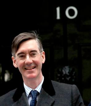 Ambition: Rees-Mogg said he wanted to be resident of 10 Downing Street by the age of 70
