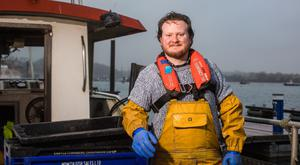 Fisherman and Samaritans volunteer Emmet Cunningham suffered from depression as a teenager